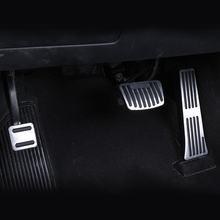 For  HYUNDAI New Sonata IX35 IX45( newest SantaFe ) MISTRA AT stainless steel foot rest non slipstyling gas pad