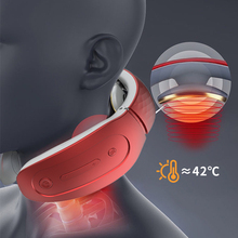 Electric-Massage-Machine Health-Care Relief-Tool Relaxation Heating Pulse-Back Pain Neck