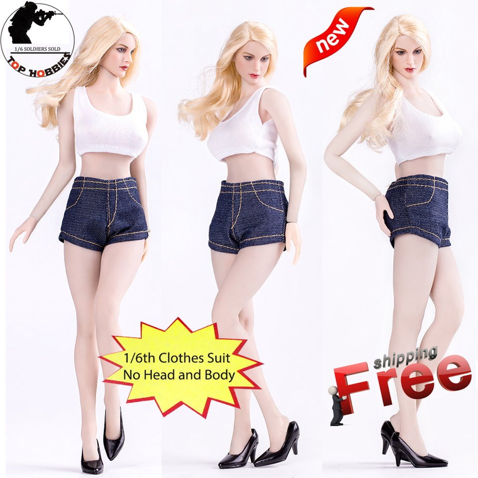 1//6 Scale High Heel Shoes ABS Fits for 12inch Female Action Figure Doll Toys