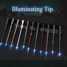 17 Kind of Magic Wands Potter Cosplay Sirius Hermione Dumbuliduo Light Wand High Quality with Gift Box Packing