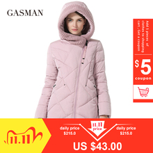 Women Parkas Jackets Coats Hooded Bio-Down Winter Collection Thick Plus-Size Fashion