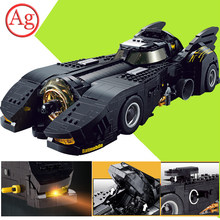 טכני תואם Legoed רכב האולטימטיבי Batmobile Decool 7144 Bulding בלוקים MOC-15506 לבני Batmaned צעצועי בנאי(China)