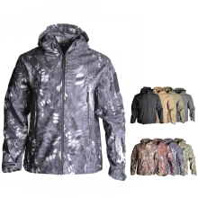 Softshell TAD Camouflage Tactical Hunting Jacket Or Pants Men Fleece Jacket Camping Hiking Jacket Windbreaker Military Suits outdoor sports tad shark skin soft shell camo jacket or pants men hiking hunting clothes camouflage tactical military clothing