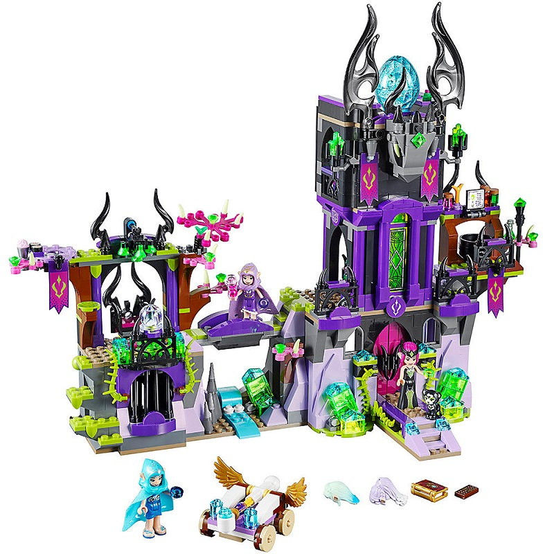 1014Pcs Ragana's Magic Shadow Castle Elves <font><b>41180</b></font> Building Blocks Bricks Compatible <font><b>Legoinglys</b></font> Friends Grils Toys for Children image