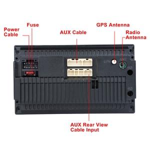 "Image 5 - Podofo reproductor Multimedia con GPS para coche, navegador, Android, 2 din, 7 "", receptor de Audio estéreo, Bluetooth, Universal, para VW, KIA, Hyundai, Toyota"