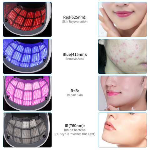 cheap led rejuvenescimento da pele maquina