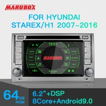 "Marubox KD6224 Car DVD Player for Hyundai Starex, H1 2007 2016, 10"" IPS Screen with DSP, GPS Navigation, Bluetooth, Android 9.0"