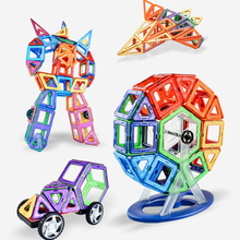 Medium Size Magnetic Building Blocks Magnetic Designer Construction Set Magnet Bircks Educational Toys for Children Gifts