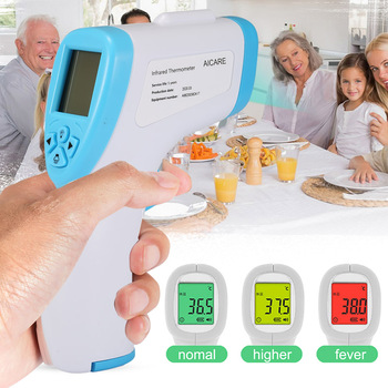 Handheld Infrared Thermometer Temperature Meter Non-contact Forehead Measuring Adult Baby can CSV