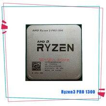 AMD Ryzen 3 PRO 1300 R3 PRO 1300 3.1 GHz dört çekirdekli dört iplik CPU işlemci YD130BBBM4KAE soket AM4 da satış R5 1500X 1600
