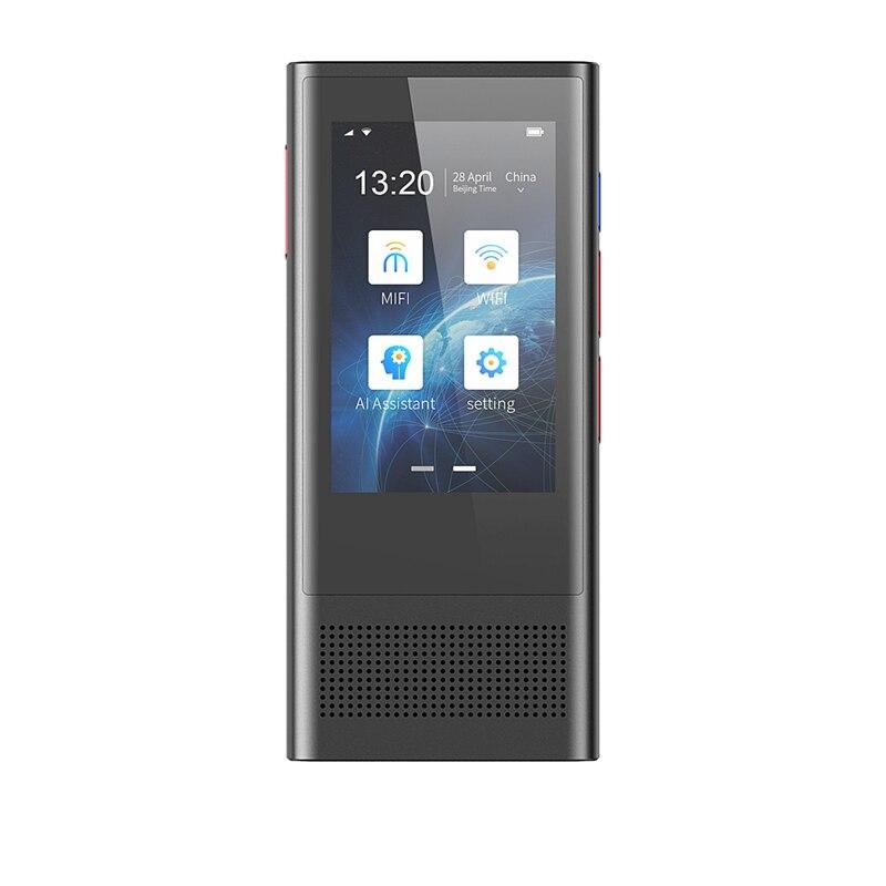 Portable Smart Voice Translator Upgrade Version W1 3.0 Translation 117 Voice Translator IPS WIFI Languages Portable OTG Transla
