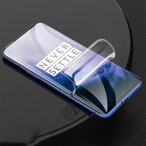 Image 5 - Original Volle Abdeckung Hydrogel Film Für OnePLus 5T 6 T 7 7T 8 Pro keine Glas Screen Protector für OnePLus 5 6 T Weichen Schutzhülle Film