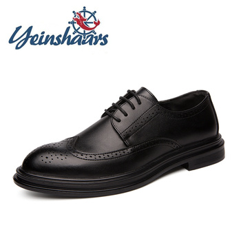 Mens Shoes Formal Luxury Shoes Designers Fashion Business Lace-up Formal Leather Shoes Party Wedding Prom Evening Long Dresses 1