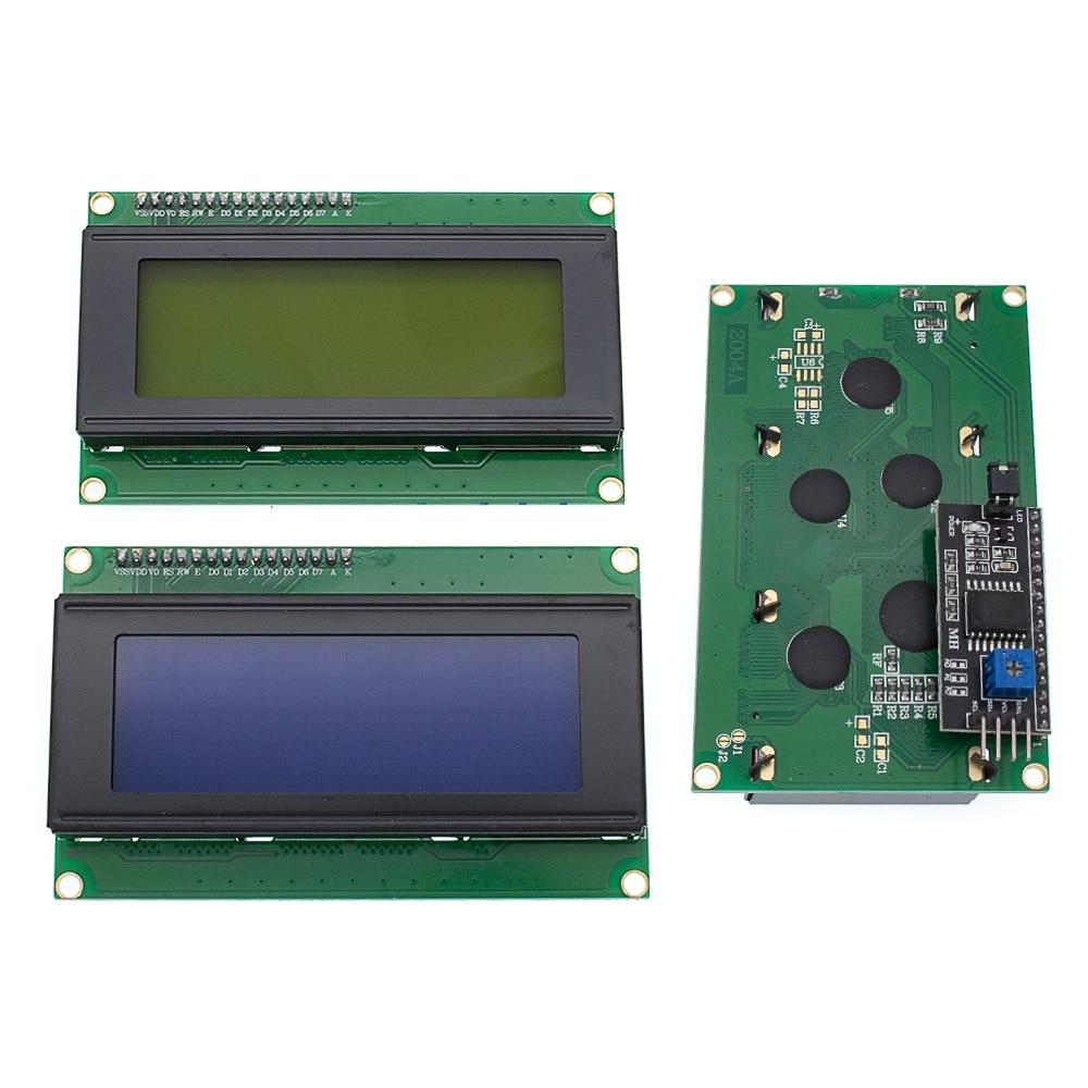 10PCS LCD2004+I2C 2004 20x4 2004A Blue/green Screen HD44780  Character LCD /w IIC/I2C Serial Interface Adapter Module