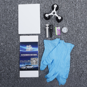 Image 5 - 1set Cracked Glass Repair Kit Windshield Kits DIY Car Window Tools Glass Scratch Easy Replacement Practical Convenient Accessory