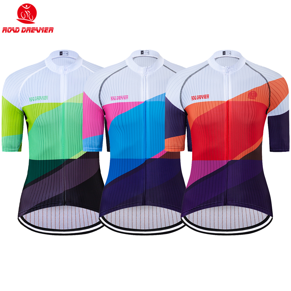 Bike Jersey Short-Sleeve Triathlon Maillot-Ciclismo Women New Mtb Lycra Breathable Multiple-Colour
