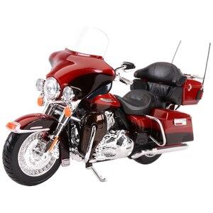 Image 3 - Maisto 1:12 2014 Sportster Ferro 883 Dyna Street Glide Road King CVO Breakout Electra Glide Pressofuso In Lega Modello di Moto Giocattolo