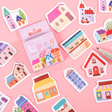 Diary Stationery Stickers Scrapbooking Art-Supplies Bullet Journal Rainbow-Color Kawaii
