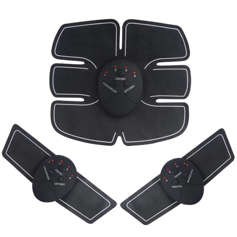 2/4/6/8pcs Set Hip Trainer Abdominal machine electric muscle stimulator ABS ems Trainer Body slimming Massage without retail box 3