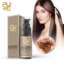 PURC горячая Распродажа эссенция для быстрого роста волос масло для лечения выпадения волос помощь для роста волос уход за волосами 20 мл