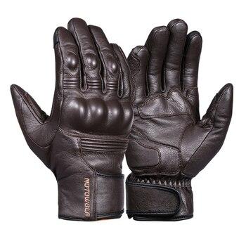 Перчатки из натуральной кожи 9