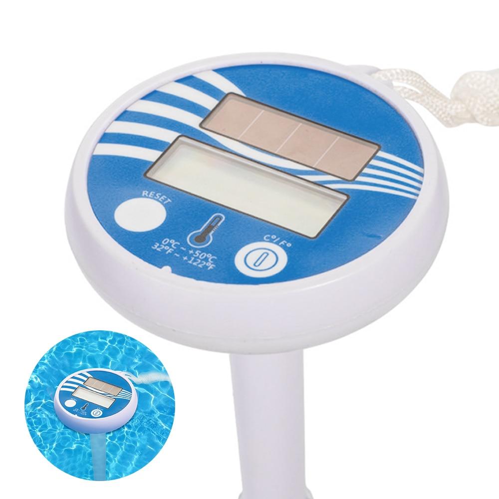 digital sem fio piscina medição de temperatura