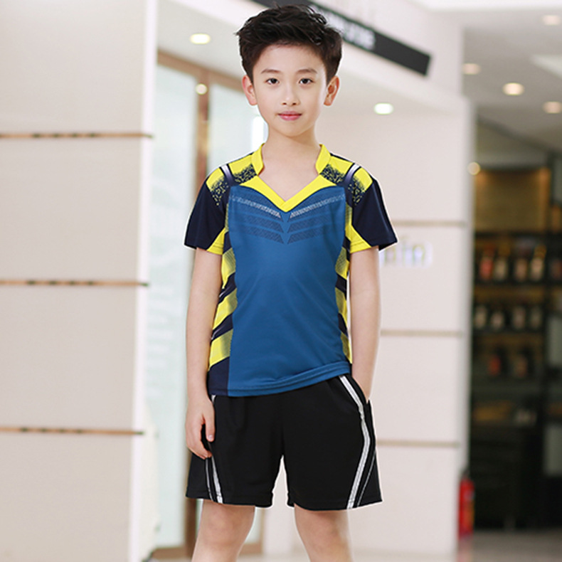 Suits Clothing Table-Tennis-Wear Breathable Men For And Women Children's Wicking Tournament