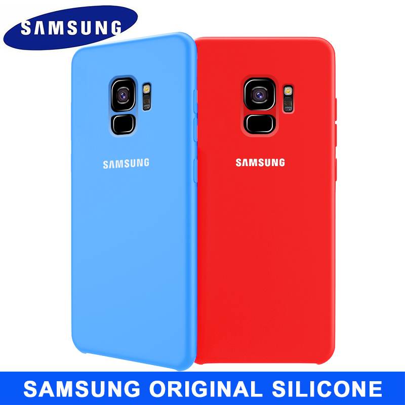 SAMSUNG S9 Case Original Soft Silicone Protector Case Samsung Galaxy S8 S9 S10 5G Plus Note 8 9 10 Plus 10 5G Case Back Cover