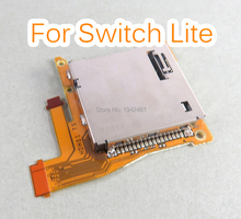 1pcs Original For Nintend Switch Lite Game Card slot with headset motherboard PCB Replacement for NS Lite