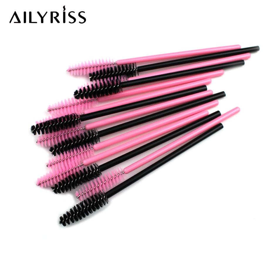 500pcs Eyelash Brushes Makeup Brushes Beauty Cosmetic Tool Disposable Mascara Wands Eyelash Extension Supplies AILYRISS