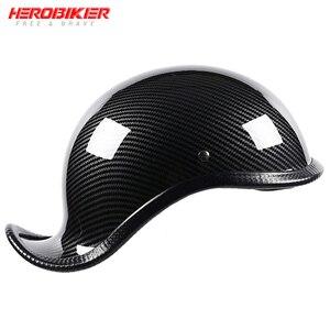 New Motorcycle Helmet Open Fac