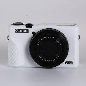 Image 5 - Silikonowe lustrzanka cyfrowa obudowa pokrowiec torba dla Canon EOS R6 R5 R RP M50 80D G7X III kamery cyfrowe