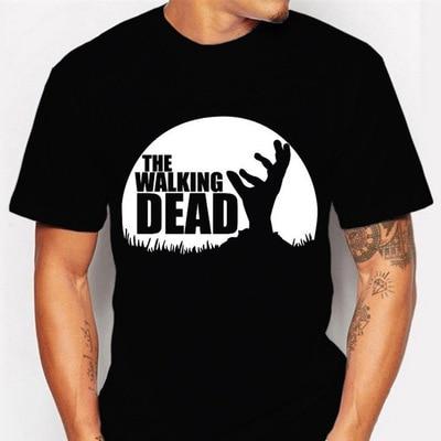 New Hot Sale The Walking Dead Printes T-shirt Summer Fashion Casual Short Sleeve O-neck Men T Shirts Free Shipping