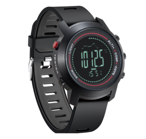 Image 3 - MG01 açık spor akıllı WatchWristwatches pusula altimetre barometre deri bant moda açık saatler saat Relogio