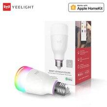 Yeelight 110V 220V E27 RGB żarówki LED 6W 10W RGB Lampada wymienny kolorowy dioda LED RGBW lampa pilot aplikacji sterowania