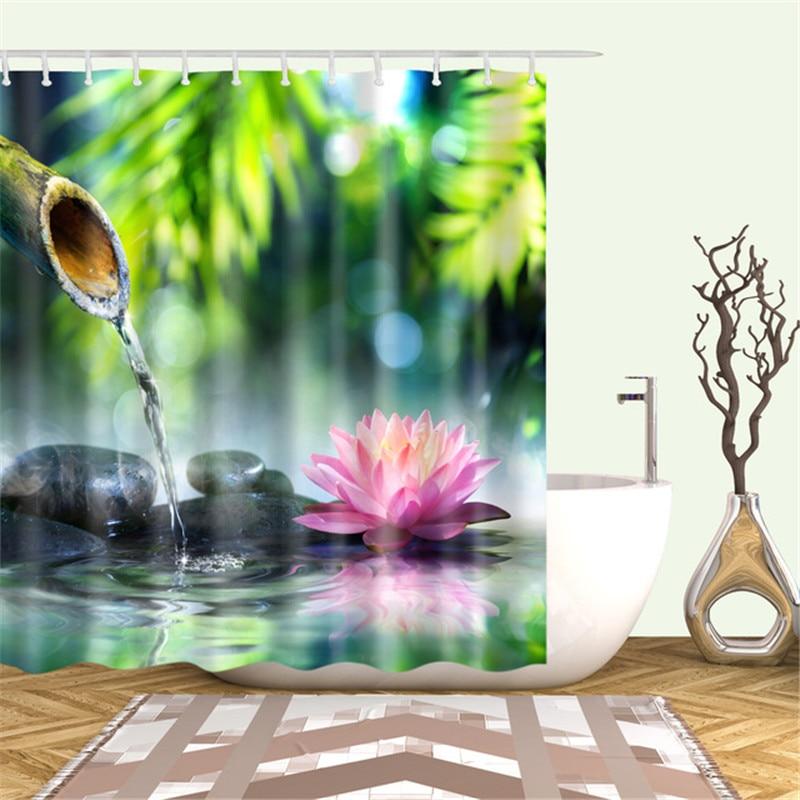 Landscape-Plants-Bamboo-Lotus-Flowers-3d-Bath-Single-Printing-Shower-Curtain-Waterproof-Polyester-for-Bathroom-Decor.jpg_640x640