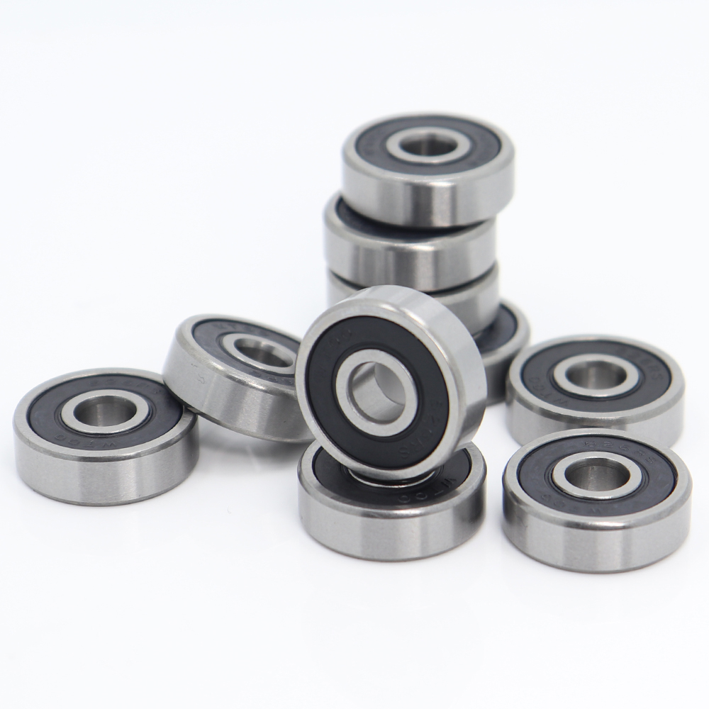 NEW 10pc 6000-2RS 6000RS Rubber Sealed Ball Bearing Miniature Bearing 10x26x8mm