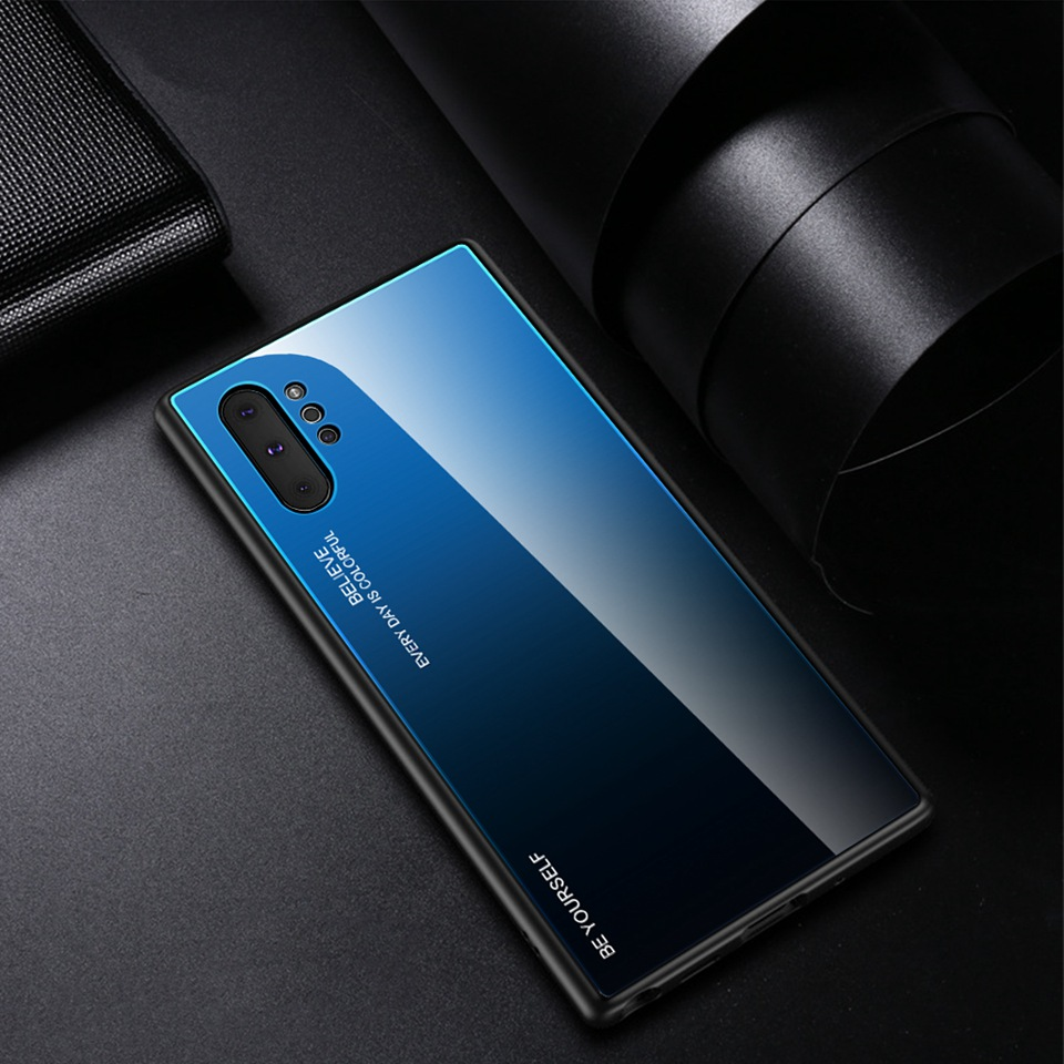 Luxury Glass Case For Samsung Galaxy Note 10 Pro 9 8 Note10 A50 A70 A50s A30s A30 A20 A10 J4 A7 2018 S8 S9 S10 Plus Phone Cover (19)