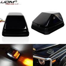 IJDM-luces LED de posición delantera para Mercedes W463 Clase G, G500, G550, G600, G55, G63, AMG, ámbar, DRL