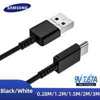 Original Usb Typ C Kabel Samsung S10 + S10 S9 A51 Schnelle Lade Kabel Usbc Daten Kabel 0,28 m 1,5 m 2m 3m Galaxy A31 M31A22 A20s