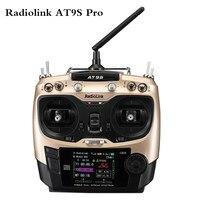 2020 neue Radiolink AT9S Pro TX 10/12CH RC Radio Controller RC sender mit R9DS RX 2,4G empfänger für Racing Drone