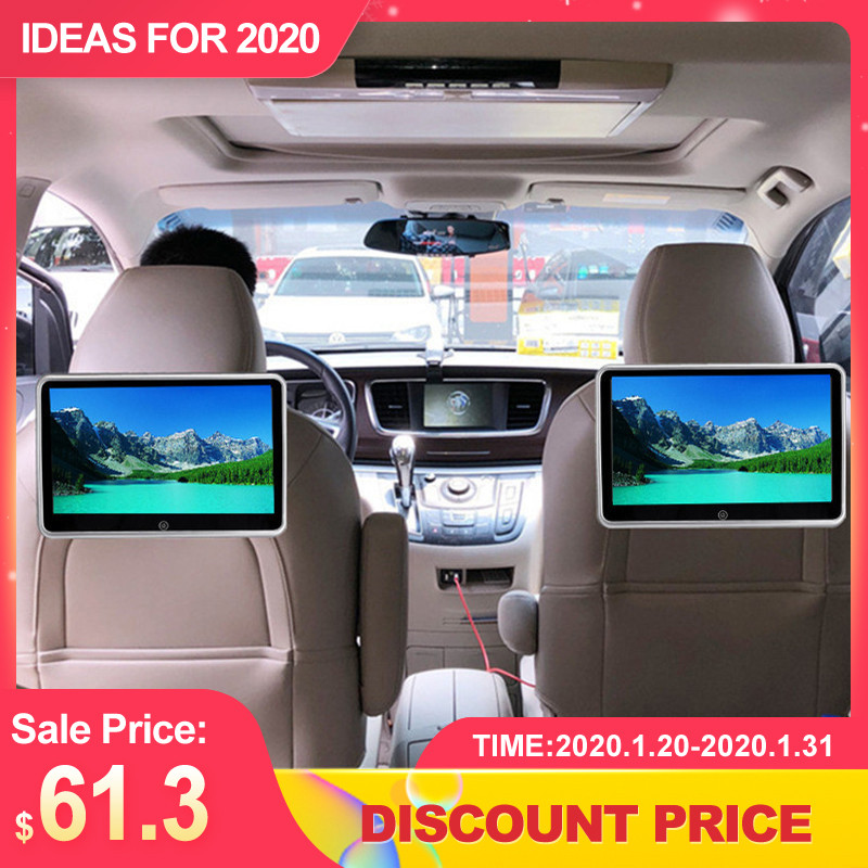 10,1 zoll <font><b>Auto</b></font> Kopfstütze <font><b>Monitor</b></font> <font><b>Auto</b></font> Multimedia MP4 MP5 Video Player TFT HD LCD Display Touchscreen bluetooth/USB /FM Universal image