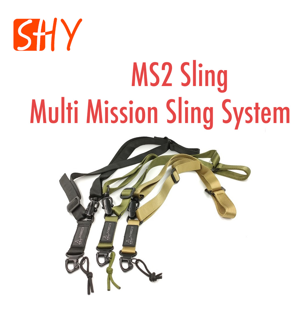 MS2 Multi Mission Sling System Two-Point Sling For Water Gel Ball Blaster AEG Airsoft Toy Gun