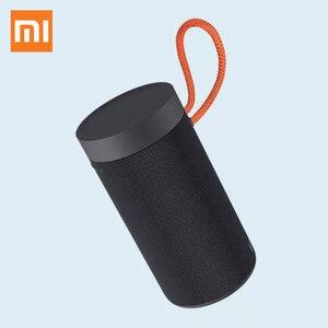 Оригинальный Xiaomi Bluetooth динамик открытый портативный беспроводной бас Bluetooth 5,0 Водонепроницаемый черный динамик MP3 плеер стерео