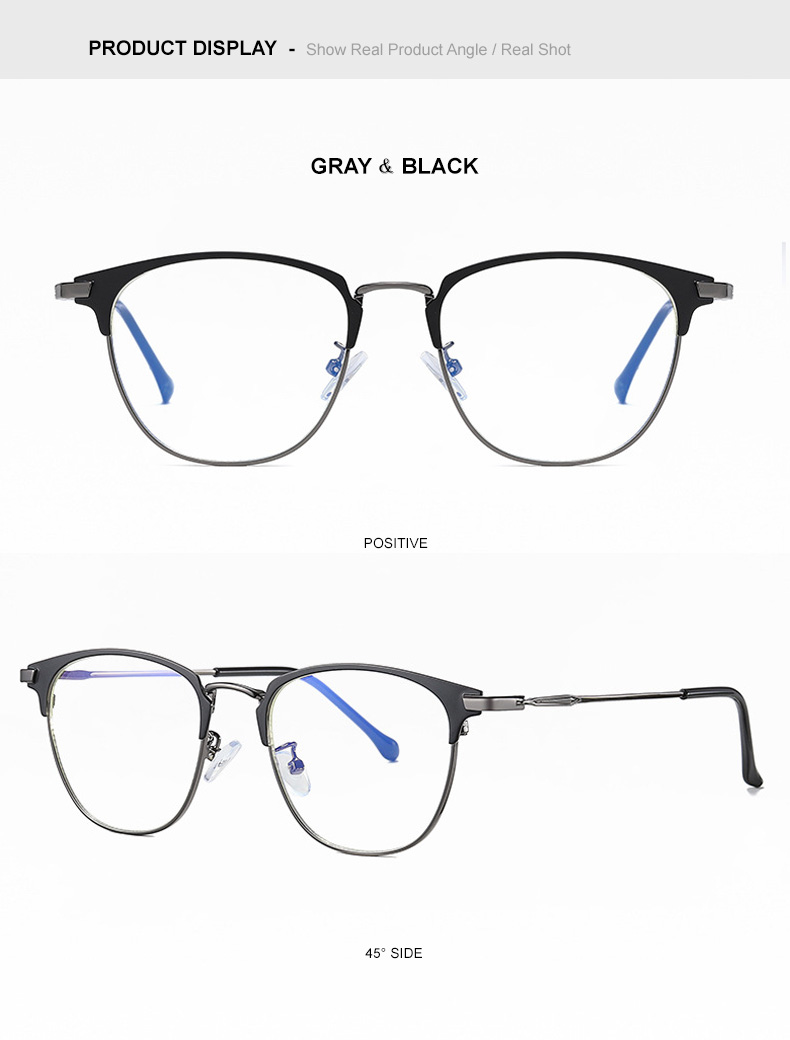 3- Gray Black