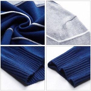 Image 5 - AIRGRACIAS 2019 新セーターの男性のファッションブランドプルオーバーストライプスリムフィット Knitred ウール秋カジュアル男性服プル hombre