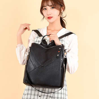 Korean Preppy Style Women Backpack Female Travel Bag Teenager College Girls Large Capacity School Student Book Shoulder Back Bag japanese women ladies girls preppy style handbag lolita bowknot shoulder bag jk uniform messenger bag 3 way daypack school bag