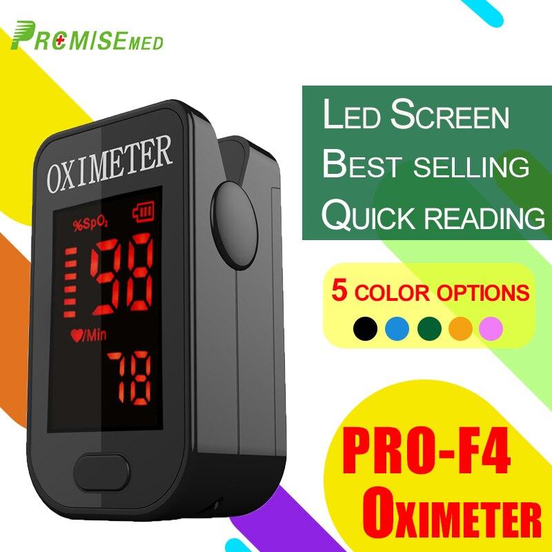 Moniteur de fréquence cardiaque médical CE LED oxymètre de pouls du bout des doigts