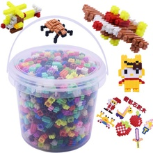 Детские соединительные миниатюрные блоки умный ранний Развивающий Пазл детские игрушки в подарок