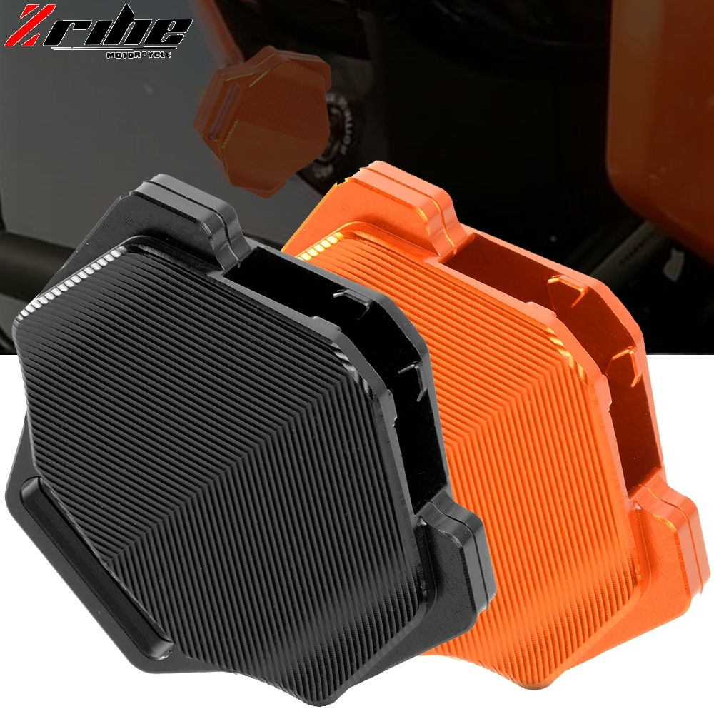 Motorcycle CNC Aluminum Key Cover Case Protective Shell FOR KTM 790 Adventure R / S 2019-2020 790 Adventure 2019- Orange Black